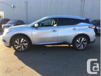 Make Nissan Model Murano Year 2015 Colour Silver kms