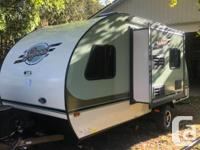Don't miss out on this unique, luxury travel trailer at