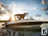 2015 Sea Ray 230 SLX- Adjustable flip-up aft lounge