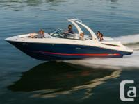 2015 Sea Ray 250 SLX- Choose from 2 seating layouts
