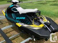 2015 Seadoo Spark 900 HO ACE 3 UP This 90HP beast is a