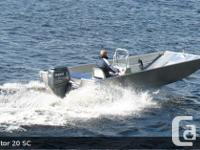 2015 STANLEY BOATS - PREDATOR twenty If you fish, hunt,