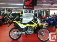 Like new condition!The 2015 Suzuki DR200S is a