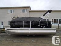 The most compact of the Mirage Cruise pontoons from