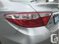 Make Toyota Model Camry Year 2015 Colour Silver kms