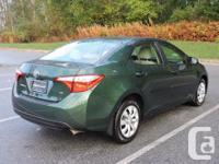 Make Toyota Model Corolla Year 2015 Colour Green kms
