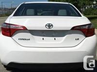 Make Toyota Model Corolla Year 2015 Colour White kms