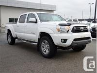 Make Toyota Model Tacoma Year 2015 Colour White kms