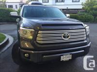 Make Toyota Model TundraMax Year 2015 Colour Grey kms