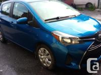 Make Toyota Model Yaris Year 2015 Colour BLUE kms