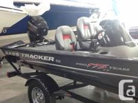 2015 Tracker Pro Team� 175 TFPrice as shown includes