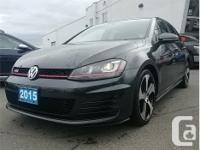 Make Volkswagen Model Golf GTI Year 2015 Colour Black