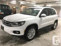 Make Volkswagen Model Tiguan Year 2015 Colour White