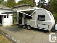 17' trailer, seems much bigger inside than the 17'