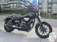 2015 Yamaha by Star Motorcycle Bolt C-Spec Cafe Cruiser