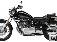 2015 Yamaha V-Star 250 Easy To Ride. Lightweight Bike.