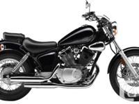 2015 Yamaha V-Star 250 Easy To Ride. Lightweight Bike.