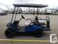 Year. 2015. Colour. Blue. 2015 Yamaha YDRE Golf Cart 2 for sale  Ontario