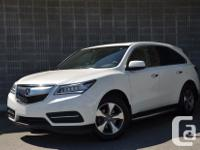 Make Acura Model MDX Year 2016 Colour WHITE kms 17128