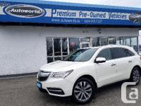 Make Acura Model MDX Year 2016 Colour White kms 48028