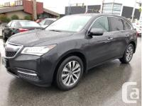 Make Acura Model MDX Year 2016 kms 69290 Trans