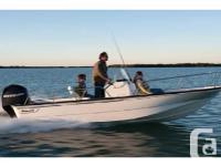 2016 Boston Whaler 170 MontaukFactory Installed Options
