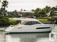 The Carver C34 is the essence of a Carver bridge boat,