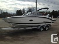 2016 Chaparral 230 SunCoast Powered by a colour matched
