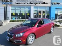 2016 Chevrolet Cruze LT Turbo Limited Front Heated