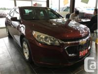 Make Chevrolet Model Malibu Year 2016 Colour Red kms
