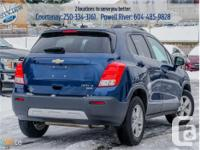 Make Chevrolet Model Trax Year 2016 Colour Blue kms