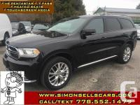 Make Dodge Model Durango Year 2016 Colour BLACK kms