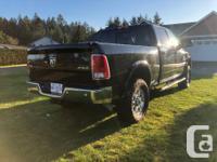 2016 Dodge Ram 3500 Laramie Cummins Diesel, auto,