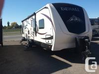 Step inside this Denali 266RL travel trailer by
