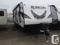 The Rubicon 2500 is a high value pull-type toy hauler