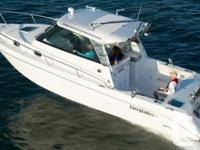 Everglades' 320EX - your home away from land. Take a