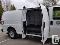Used, Make GMC Model Savana 2500 Year 2016 Colour White kms for sale  British Columbia