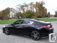 Make Honda Model Accord Year 2016 Colour Black kms