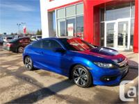 Make Honda Model Civic Coupe Year 2016 Colour Blue kms