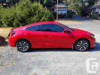 Make Honda Model Civic Year 2016 Colour Red kms 35000