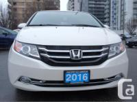 Make Honda Model Odyssey Year 2016 Colour White kms