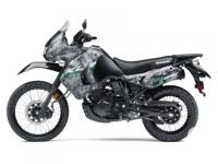 HIT THE ADVENTURE TRAIL IN DESERT CAMOThe KLR650 is a