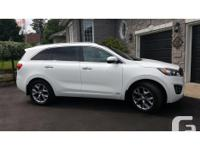 Make Kia Model Sorento Year 2016 Colour Pearl White