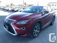 Make Lexus Model RX 350 Year 2016 Colour Red kms 41454