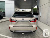 Make Lexus Model RX350 Year 2016 Colour Gold kms 39313