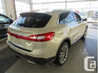 Make Lincoln Model MKX Year 2016 Colour Tan kms 55528