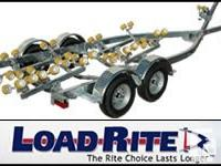 2016 Galvanized Load-Rite Trailers Brand New Galvanized