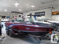 The Lund 202 Pro-V GL fiberglass fishing boat has all