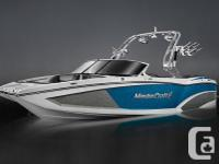 2016 MasterCraft X23Factory Installed Options Included