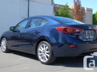 Make Mazda Model 3 Year 2016 Colour Blue kms 38513